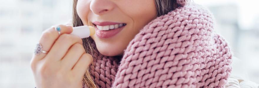 protéger ses lèvres du froid