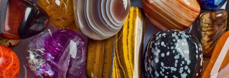Pierres et minéraux naturels: