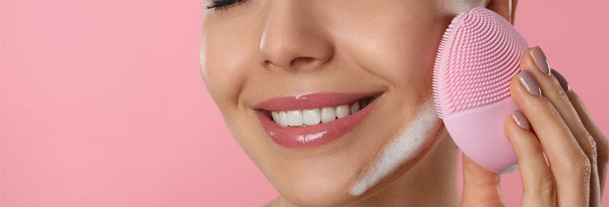 Brosse nettoyante pour visage
