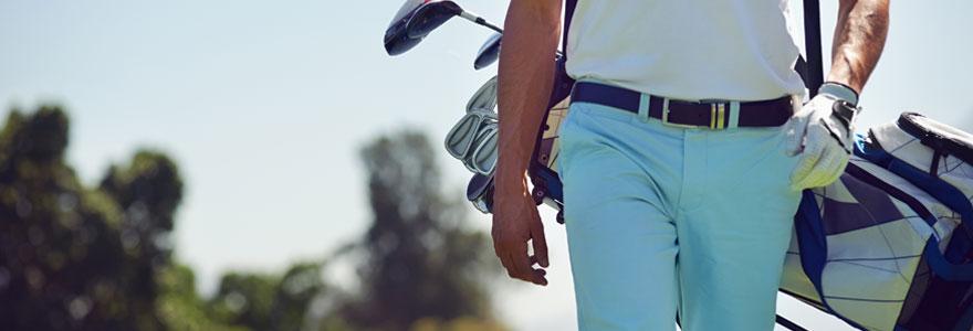 Matériel de golf en ligne
